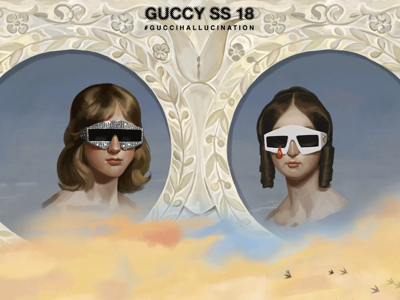 84f440083330 Gucci SS 18 / webデザイナーのためのギャラリー・サイトリンク集 / 1GUU